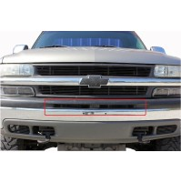 2003 Chevrolet Suburban 2Pc Bumper Billet Grille Insert Kit