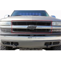 2003 Chevrolet Suburban 2Pc Upper Billet Grille Insert Kit