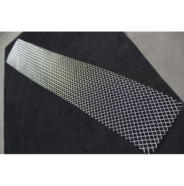 "6"" X 24"" Universal Woven Diamond Pattern Mesh Grille Kit"
