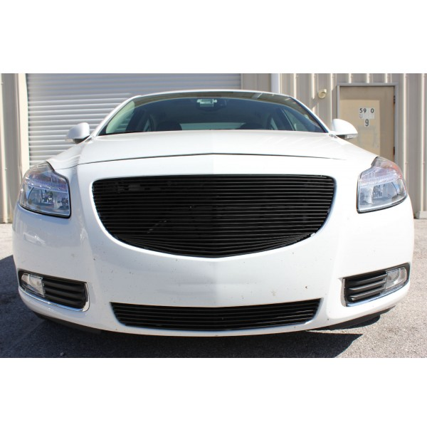 2012 Buick Regal 2Pc Upper & Bumper Replacement Billet Grille