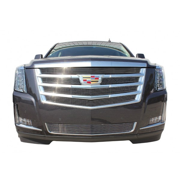 2016 Cadillac Escalade 6Pc Upper/Bumper Billet Grille No Camera