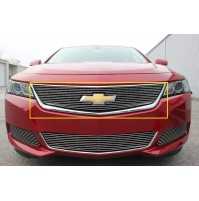 2019 Chevrolet Impala 1Pc Upper Overlay Billet Grille With Cutout