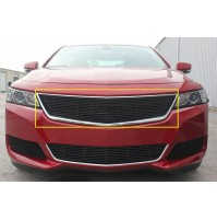 2019 Chevrolet Impala 1Pc Upper Overlay Billet Grille Without Cutout