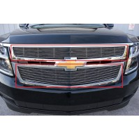 2019 Chevrolet Suburban 2Pc Upper Overlay Billet Grille Kit