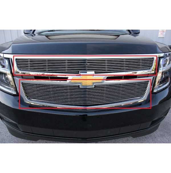 2019 Chevrolet Tahoe 2Pc Upper Overlay Billet Grille Kit