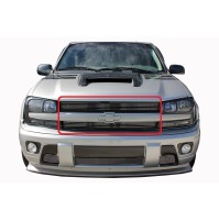 2002 Chevrolet Trailblazer 2Pc Upper Overlay Billet Grille Kit