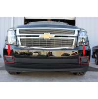 2019 Chevrolet Suburban 2Pc Bumper Billet Grille Kit