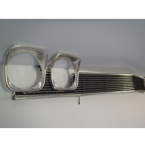 1968 Chevrolet Chevelle 3Pc Billet Grille Kit