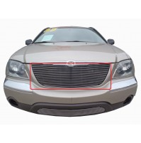 2005 Chrysler Pacifica 1Pc Upper Replacement Billet Grille