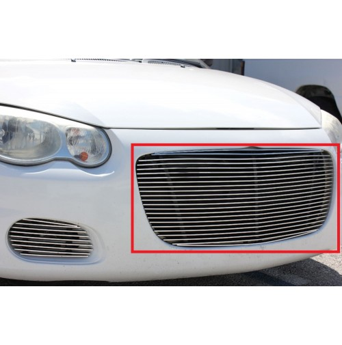 2004 Chrysler Sebring 1Pc Upper Replacement Billet Grille