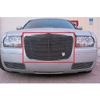 2006 Chrysler 300C 1Pc Upper Replacement Billet Grille