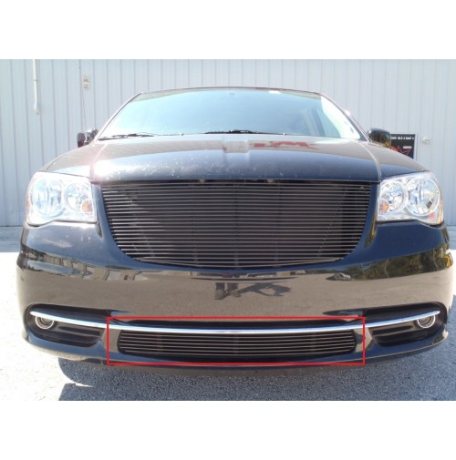 2015 Chrysler Town And Country 1Pc Overlay Bumper Billet