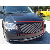 2015 Chrysler Town And Country 1Pc Upper Replacement Billet Grille