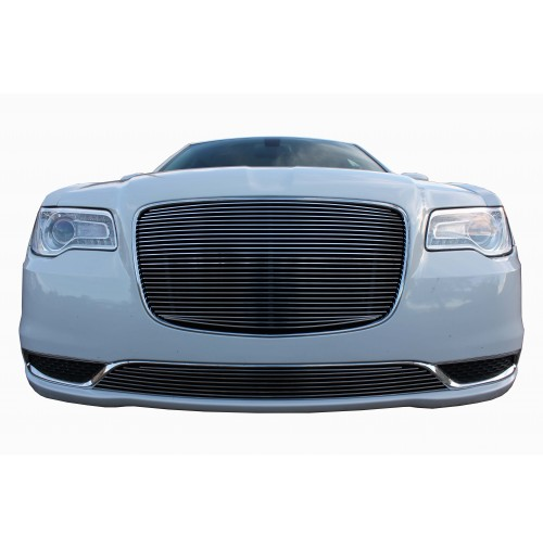2017 Chrysler 300 2Pc Overlay Billet Grille Kit