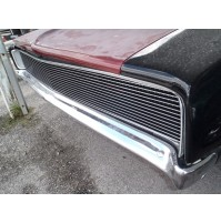 1968 Dodge Charger 1Pc Upper Replacement Phantom Billet Grille