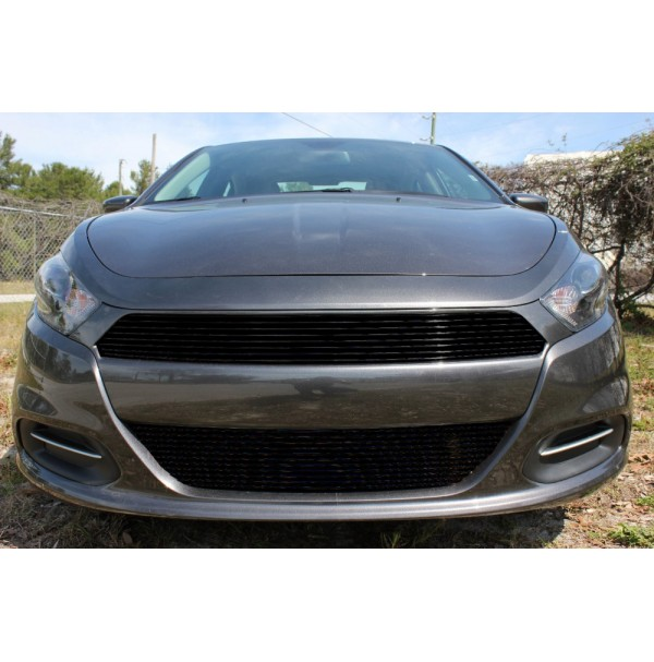 2013 Dodge Dart 2Pc Upper & Bumper Billet Grille Kit