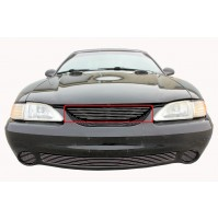 1994 Ford Mustang Cobra 1Pc Upper Billet Grille