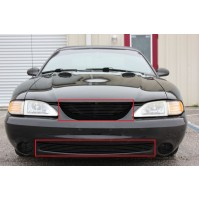 1994 Ford Mustang Cobra 2Pc Combo Billet Grille Kit
