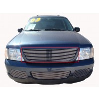 2005 Ford Explorer 1Pc Upper Replacement Billet Grille
