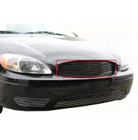 2005 Ford Taurus 1Pc Upper Replacement Billet Grille