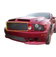 2005 Ford Mustang Saleen 1Pc Upper Replacement Billet Grille
