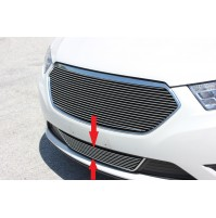 2013 Ford Taurus 1Pc Overlay Bumper Billet Grille