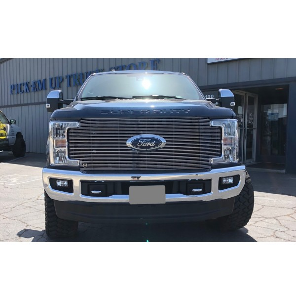 2019 Ford F350 Super Duty 1Pc Replacement Billet Grille