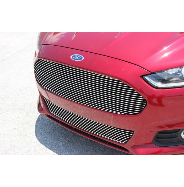 2016 Ford Fusion 2Pc Replacement Upper & Bumper Billet Grille