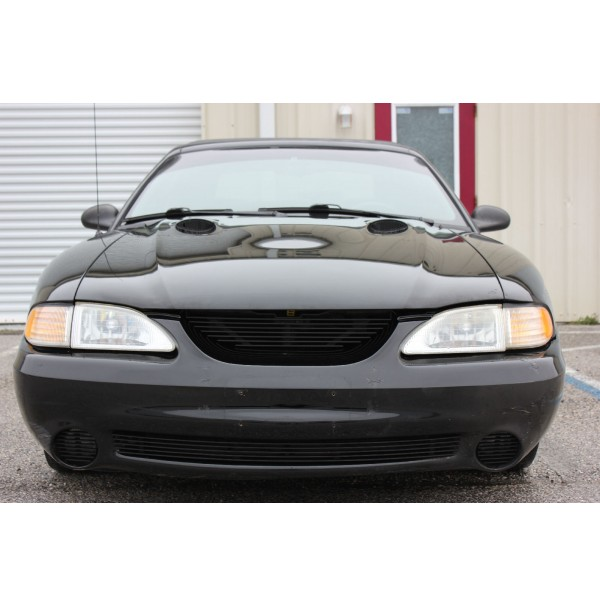 1994 Ford Mustang Cobra 4Pc Billet Grille Kit With Cobra Badge