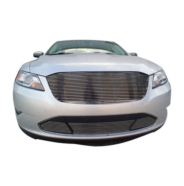 2011 Ford Taurus 4Pc Upper Replacement & Bumper Billet Grille