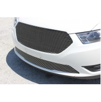 2013 Ford Taurus 2Pc Replacement Upper & Bumper Billet Grille