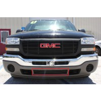 2003 Gmc Sierra 1500 1Pc Center Bumper Billet Grille Insert