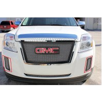 2011 Gmc Terrain 2Pc & Bumper Accent Mesh Grille Kit