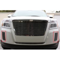 2011 Gmc Terrain 2Pc Bumper Accent Billet Grille Kit