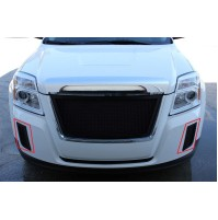 2011 Gmc Terrain 2Pc Over Bumper Accent Mesh Grille Kit
