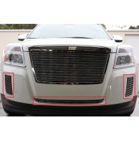 2011 Gmc Terrain 3Pc Bumper & Bumper Accent Billet Grille Kit