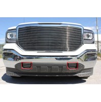 2016 Gmc Sierra 1500 2Pc Tow Hook Accents Billet Grille Kit