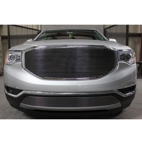 2019 Gmc Acadia 2Pc Overlay Billet Grille Kit Without Cutout