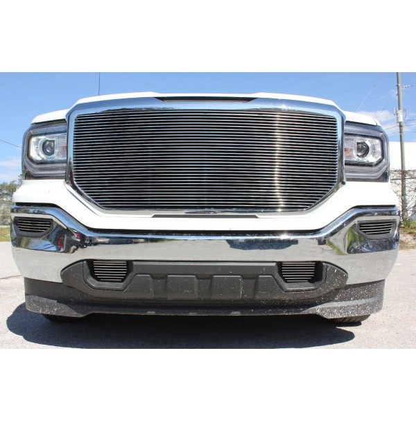 2017 Gmc Sierra 1500 5Pc Upper, Tow & Fog Accents Billet Grille