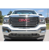 2016 Gmc Sierra 1500 7Pc Upper, Tow & Fog Accents Billet Grille