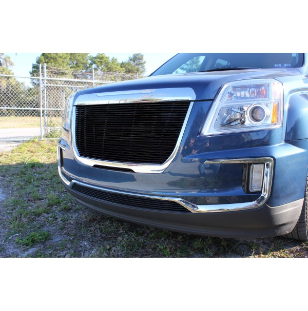 2017 Gmc Terrain 3Pc Upper, Bumper & Mid Bumper Billet Grille Kit
