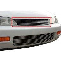 1994 Honda Accord 1Pc Upper Replacement Billet Grille Kit