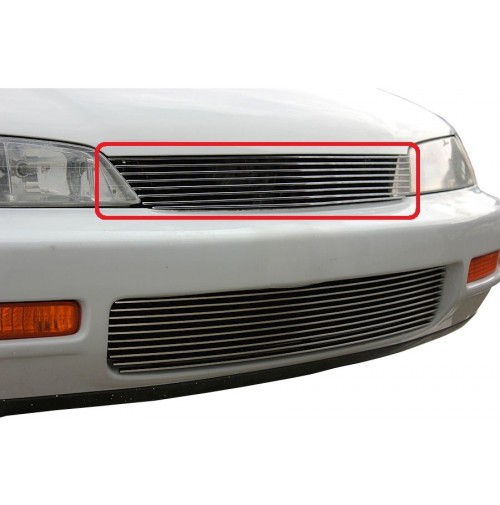 1995 Honda Accord 1Pc Upper Replacement Billet Grille Kit