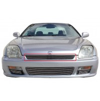 2000 Honda Prelude 1Pc Upper Replacement Billet Grille