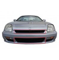 1997 Honda Prelude 2Pc Upper & Bumper Billet Grille Kit
