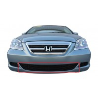 2005 Honda Odyssey 1Pc Center Bumper Billet Grille Kit