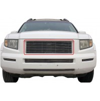 2005 Honda Ridgeline 1Pc Upper Replacement Billet Grille Kit
