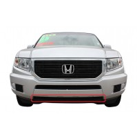 2013 Honda Ridgeline 1Pc Lower Overlay Bumper Billet Grille