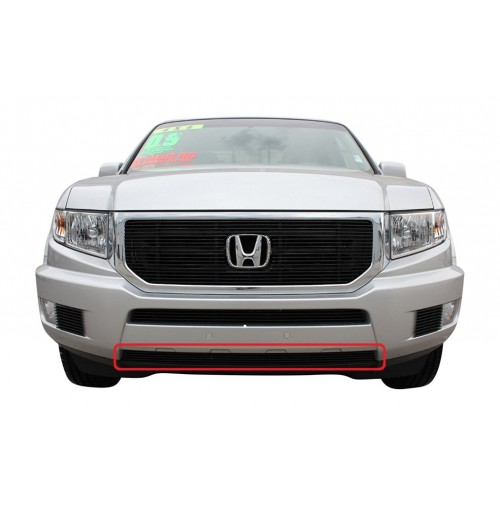 2014 Honda Ridgeline 1Pc Lower Overlay Bumper Billet Grille