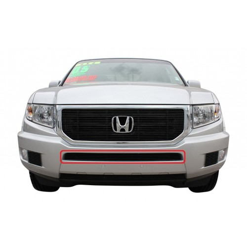 2014 Honda Ridgeline 1Pc Center Overlay Bumper Billet Grille